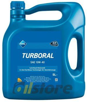 Моторное масло ARAL Turboral 10W-40, 5л