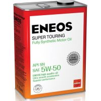 Моторное масло ENEOS Super Touring 5W-50, 4л
