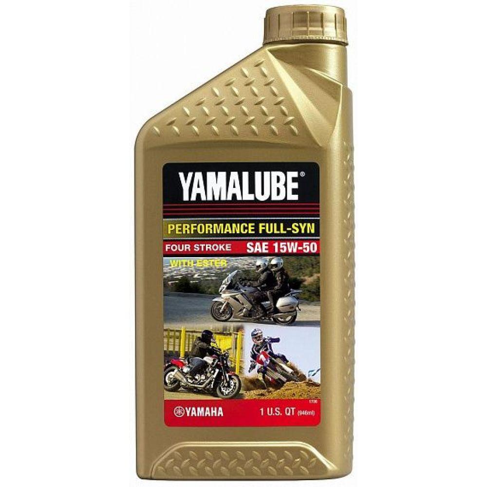 Моторное масло YAMAHA Yamalube 15W-50, 0.946л
