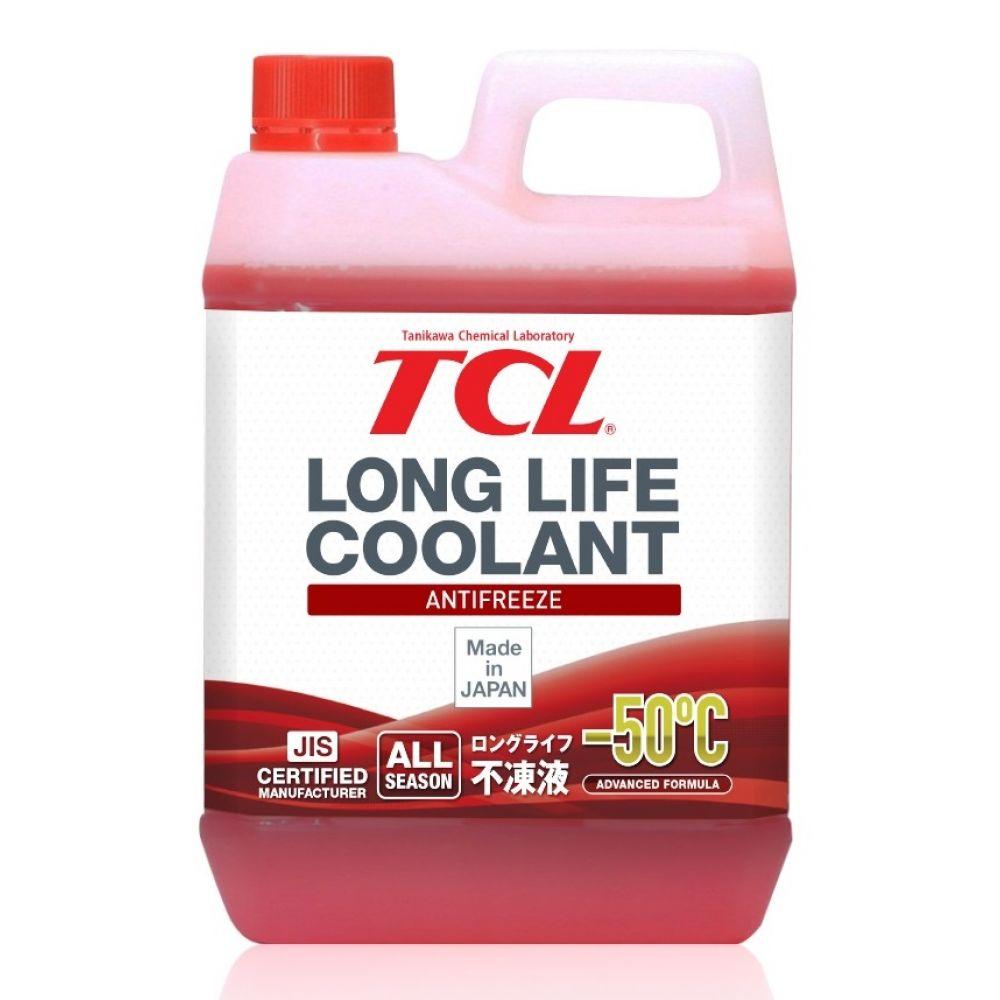 Антифриз TCL Long Life Coolant RED -50°C, 2л