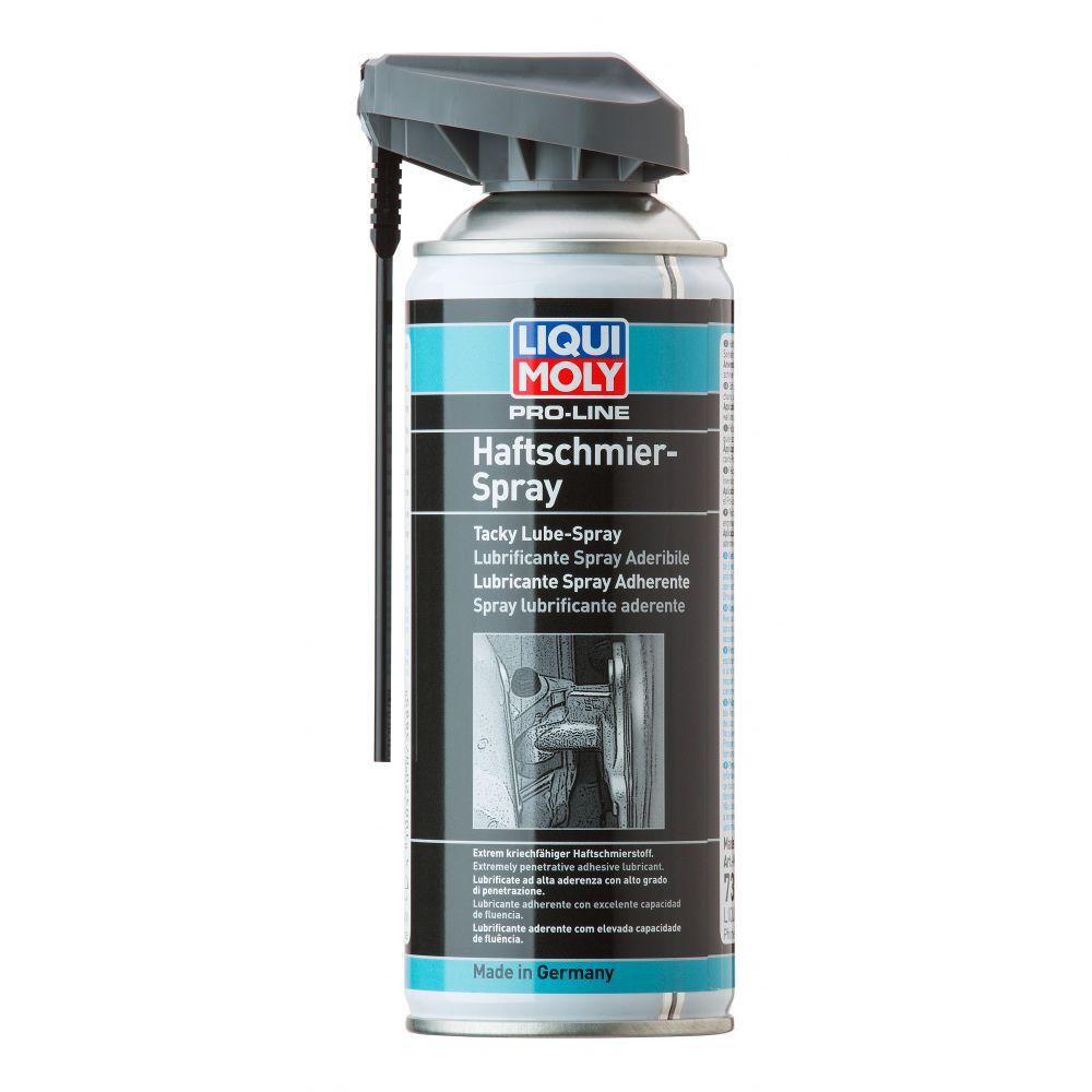 Профессиональная сверхлипкая смазка спрей LIQUI MOLY Pro-Line Haftschmier Spray, 0,4л