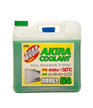 Антифриз AKIRA Coolant -50°C зеленый, 5л