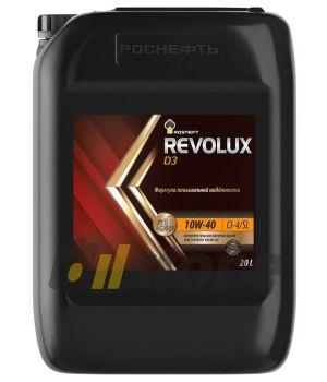 Моторное масло Роснефть RN Revolux D3 10W-40, 20л