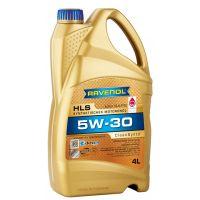 Моторное масло RAVENOL HLS SAE 5W-30 ( 4л) new