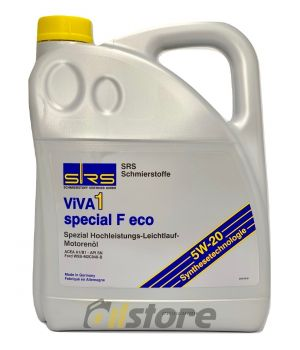 Моторное масло SRS VIVA 1 Special F Eco 5W-20, 5л
