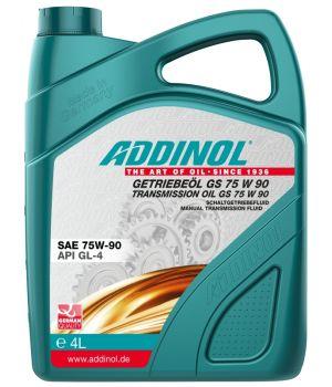 Трансмиссионное масло ADDINOL Getriebeol GS 75W-90, 4л