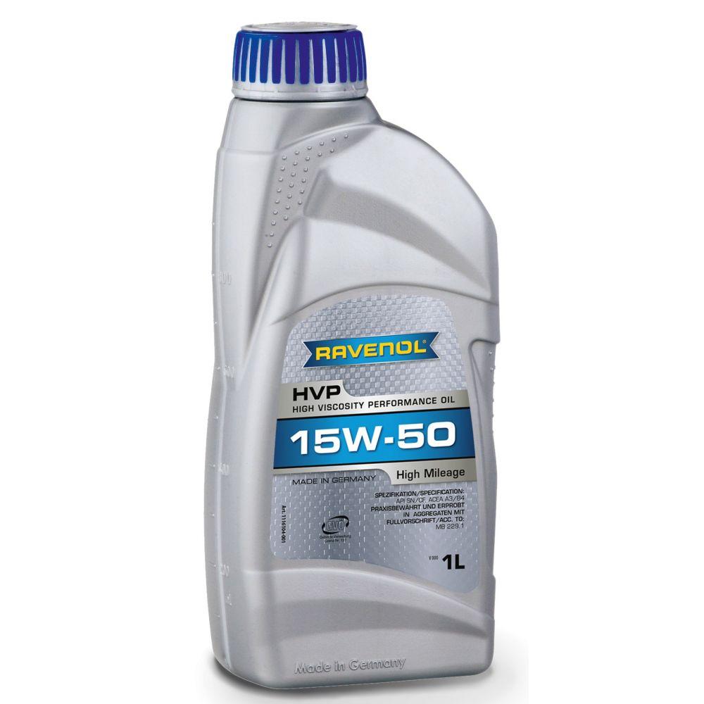 Моторное масло RAVENOL HVP High Viscosity Perfor. Oil SAE15W-50 ( 1л) new