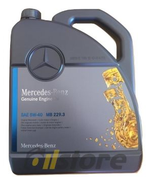Моторное масло Mercedes-Benz MB 229.3 5W-40, 5л