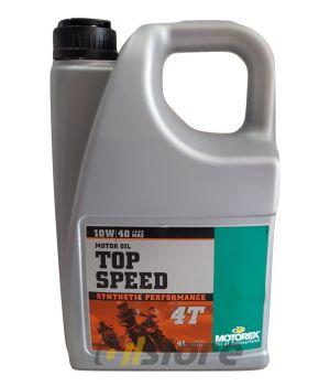 Моторное масло MOTOREX TOP SPEED 4T 10W-40 JASO MA 2, 4л