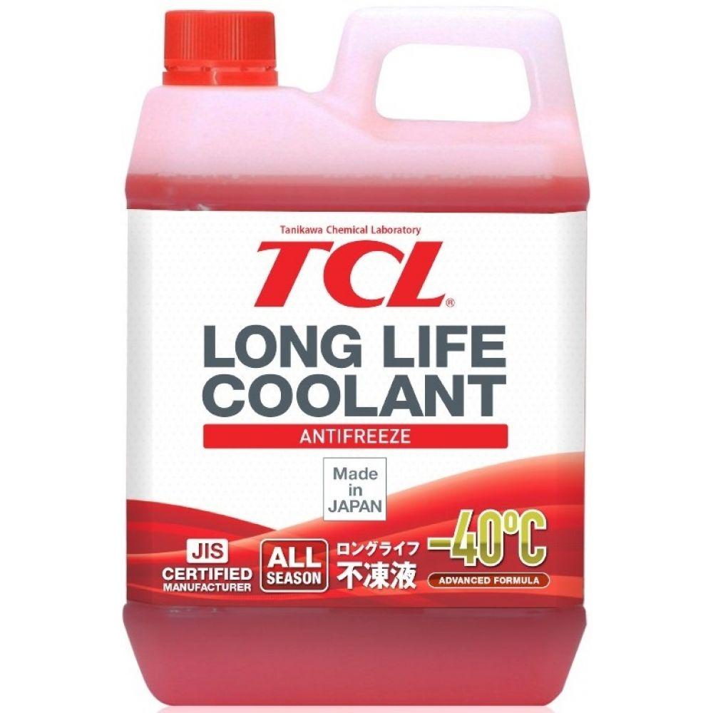 Антифриз TCL Long Life Coolant RED -40°C, 2л