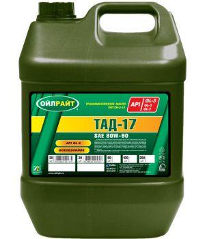 Tрансмиссионное масло OILRIGHT ТАД-17 ТМ-5-18, 20л