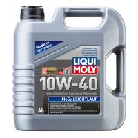 Моторное масло LIQUI MOLY MoS2 Leichtlauf 10W-40, 4л