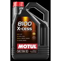 Моторное масло Motul 8100 X-cess 5W-30, 5л