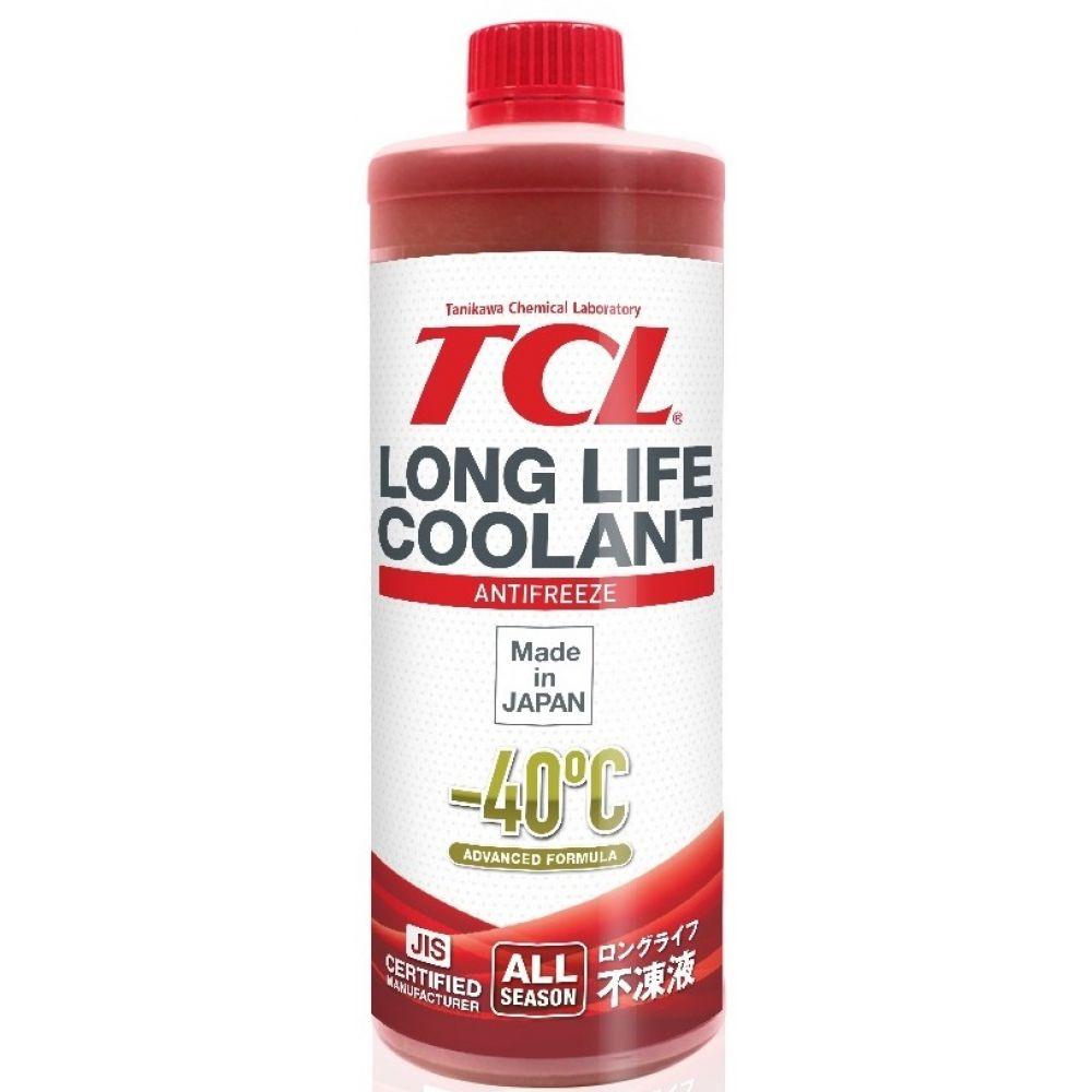 Антифриз TCL Long Life Coolant RED -40°C, 1л