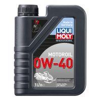Моторное масло для снегоходов LIQUI MOLY Snowmobil Motoroil 0W-40, 1л
