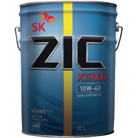 Моторное масло ZIC X5000 10W-40, 20л.