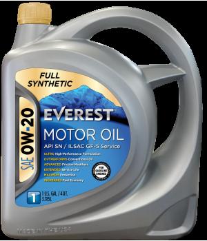 Моторное масло Everest FULL-SYN 0W-20, 5л