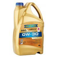 Моторное масло RAVENOL SSO SAE 0W-30, 4л