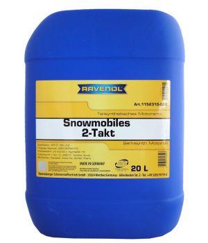 Масло для 2-Такт снегоходов RAVENOL Snowmobiles Teilsynth. 2-Takt (20л) new