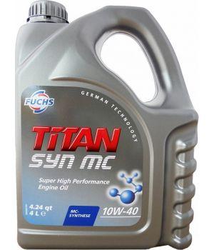 Моторное масло FUCHS Titan SYN MC 10W-40, 4л