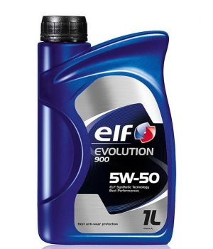 Моторное масло ELF Evolution 900 5W-50, 1л