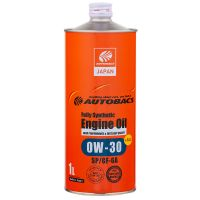 Моторное масло AUTOBACS Fully Synthetic 0W-30 SP/GF-6A, 1л