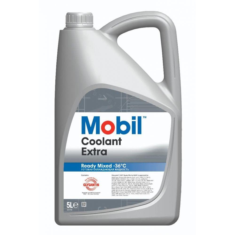 Антифриз Mobil Coolant Extra -36 °C, 5л