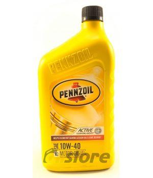 Моторное масло PENNZOIL MOTOR OIL SAE 10W-40, 0,946л