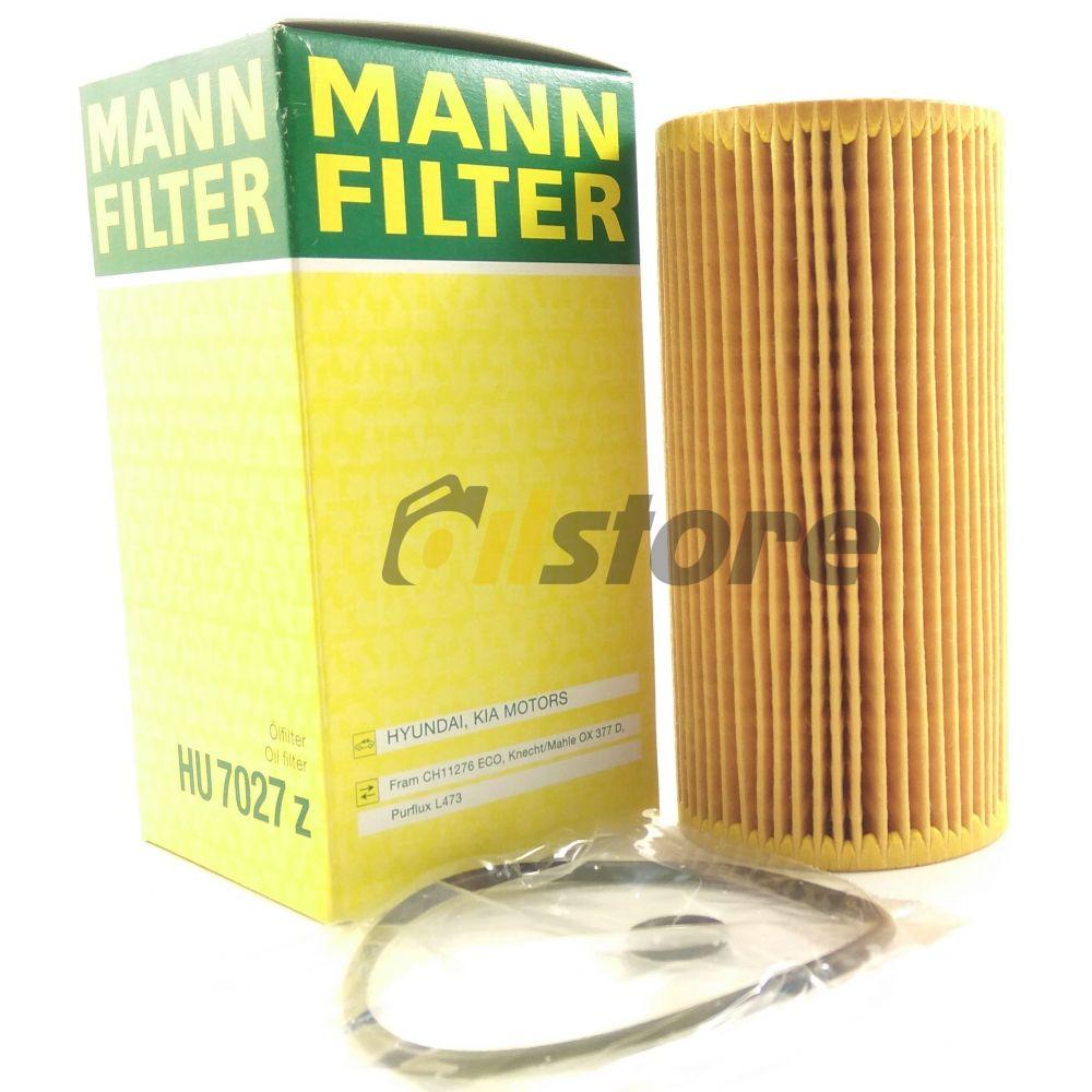 Масляный фильтр MANN-FILTER HU 7027 Z