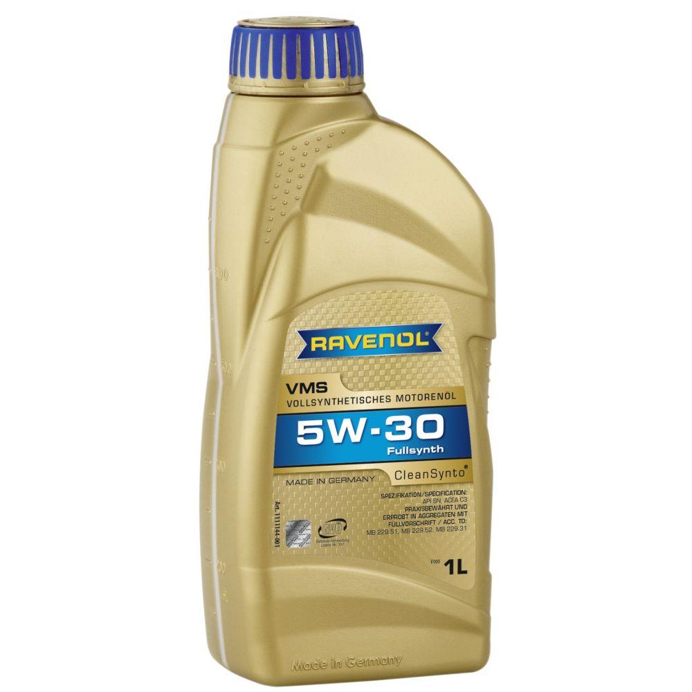 Моторное масло RAVENOL VMS SAE 5W-30 (1л) new