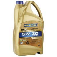 Моторное масло RAVENOL DXG SAE 5W-30, 4л