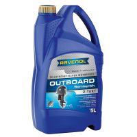 Моторное масло для 2Т лод.моторов RAVENOL Outboardoel 2T teilsynth. ( 5л) new