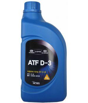 Трансмиссионное масло Hyundai/Kia ATF D-3, 1л