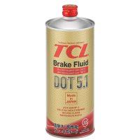 Тормозная жидкость TCL DOT 5.1, 1л