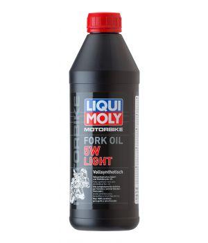 Масло для вилок и амортизаторов LIQUI MOLY Motorbike Fork Oil Light 5W, 1л