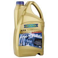 Трансмиссионное масло RAVENOL ATF DW-1 Fluid (4 л) new