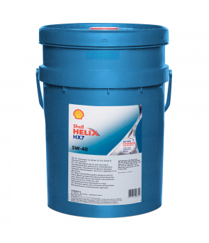 Моторное масло SHELL Helix HX7 SAE 5W-40, 20л