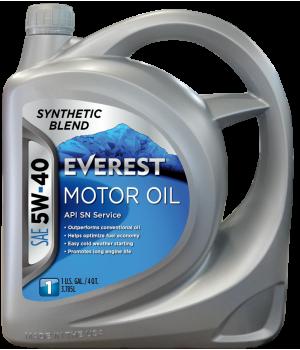 Моторное масло Everest 5W40, 4л