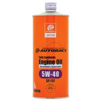 Моторное масло AUTOBACS Fully Synthetic 5W-40 SP/CF, 1л