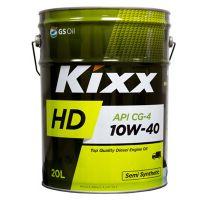 Моторное масло Kixx HD CG-4 10W-40, 20л