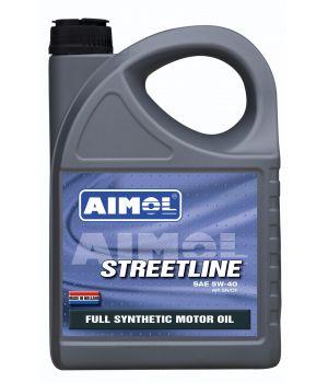 Моторное масло AIMOL Streetline 5W-40, 4 л.