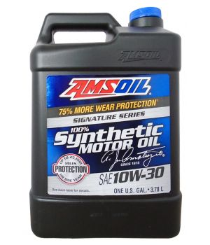 Моторное масло AMSOIL Signature Series Synthetic Motor Oil SAE 10W-30, 3,784 л.
