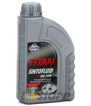 Трансмиссионное масло FUCHS Titan Sintofluid FE 75W, 1л