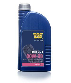 Трансмиссионное масло WEGO Trans GL-4 80W-90, 1л