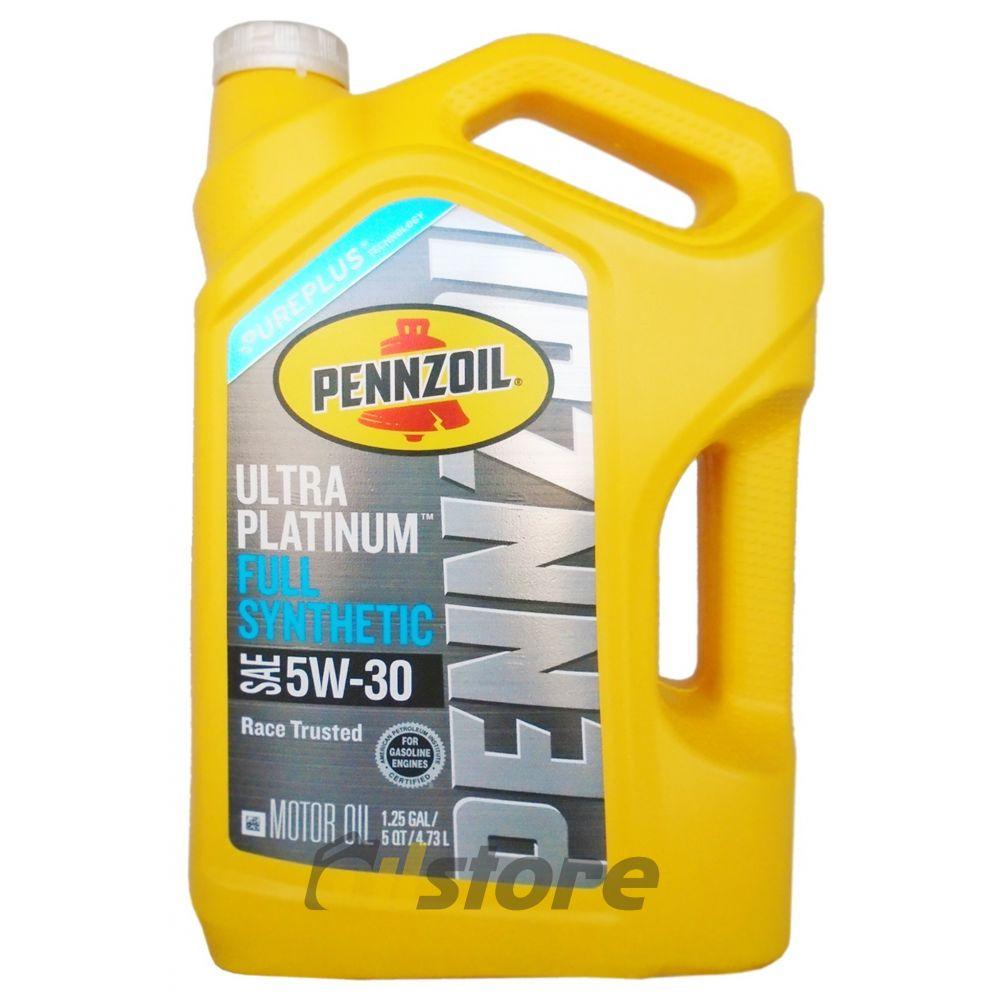 Моторное масло PENNZOIL Ultra Platinum SAE 5W-30, 4,73л