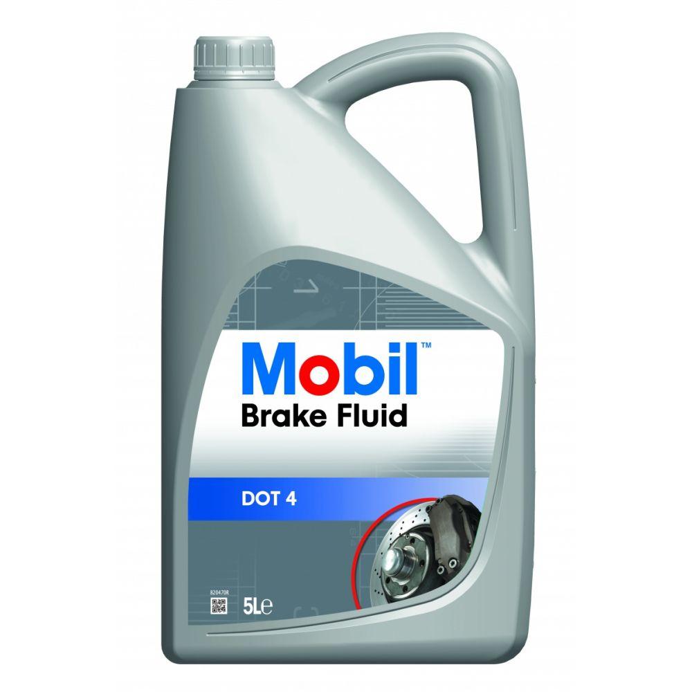 Тормозная жидкость Mobil Brake Fluid DOT 4, 5л