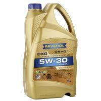 Моторное масло RAVENOL DXG SAE 5W-30, 5л