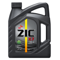Моторное масло ZIC X7 Diesel SAE 10W-40, 4л