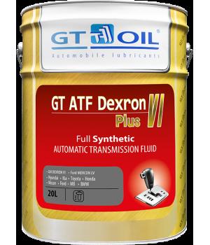 Трансмиссионное масло GT OIL GT ATF Dexron VI Plus, 20л