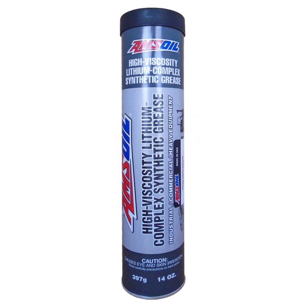 Смазка AMSOIL Synthetic High Viscosity Lithium Complex Grease, 397гр